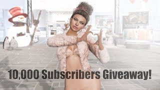 10,000 YouTube Subscribers Giveaway - Vista Animations in Second Life