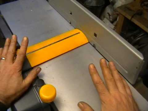 Planer / Thicknesser (Jointer) Review - Part 1. - YouTube