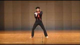 Cool Mime! Tyson Eberly Mime Performance Part 2