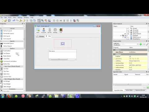 Qt Designer Tutorial - Part 2