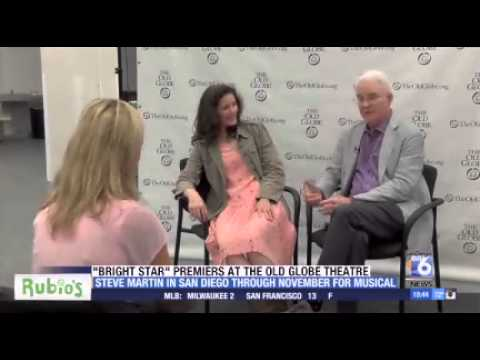 """Steve Martin discusses """"Bright Star"""" at the Old Globe"""