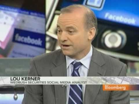 Wedbush's Kerner Interview on Facebook Valuation