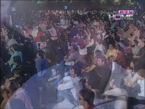 Amjad Shah Producer P.t.v Rahat Fateh Ali Khan Show(part 2) video