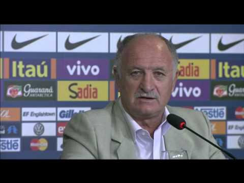 Felipão Explica Que Adiou Convocação De Jogadores Que Atuam No Brasil Por Causa De Fred