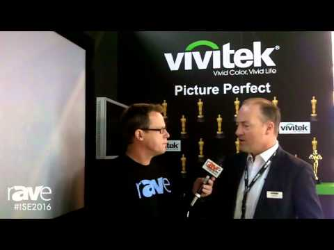 ISE 2016: Gary Kayye Talks with Holger Graeff of Vivitek About This Year's Show