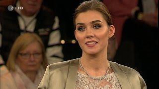 Markus Lanz Frank Otto, Unternehmer, Nathalie Volk, Model Castingshow