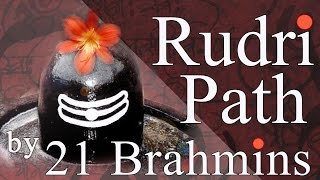 Rudri Path | Authentic Vedic Chanting by 21 Brahmins