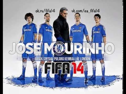 Chelsea FC 2014 Jose Mourinho, Fernando Torres, David Luiz, Oscar, Gary Cahill