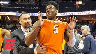 Tennessee beats Memphis behind Admiral Schofield's 29 points | College Basketball Highlights