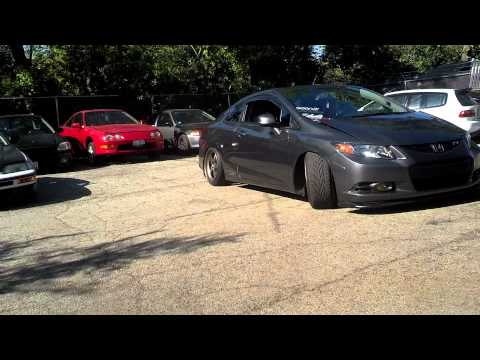 stanced 2012 civic si fg4 how to save money and do it. Black Bedroom Furniture Sets. Home Design Ideas