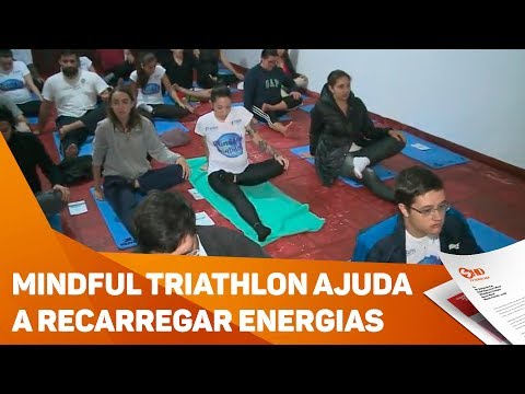 Mindful triathlon ajuda a recarregar energias - TV SOROCABA/SBT