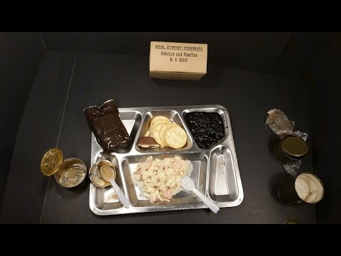 1965 Vietnam C Ration Meal Combat Individual Chicken & Noodles MRE Military Oldest Food Review