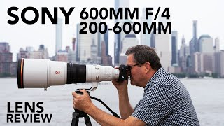 NEW Sony 600mm f/4 & 200-600mm Lenses | Image Comparison!