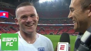 Wayne Rooney after final England match: 'Emotional moment'
