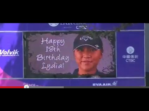 Lydia Ko Celebrates Her 18th Birthday Just Off the Green