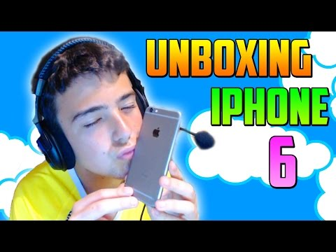 Unboxing iPhone 6 en español - DaniRep