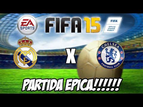 FIFA 15 - PARTIDA ÉPICA!!! Real Madrid vs Chelsea f.c.