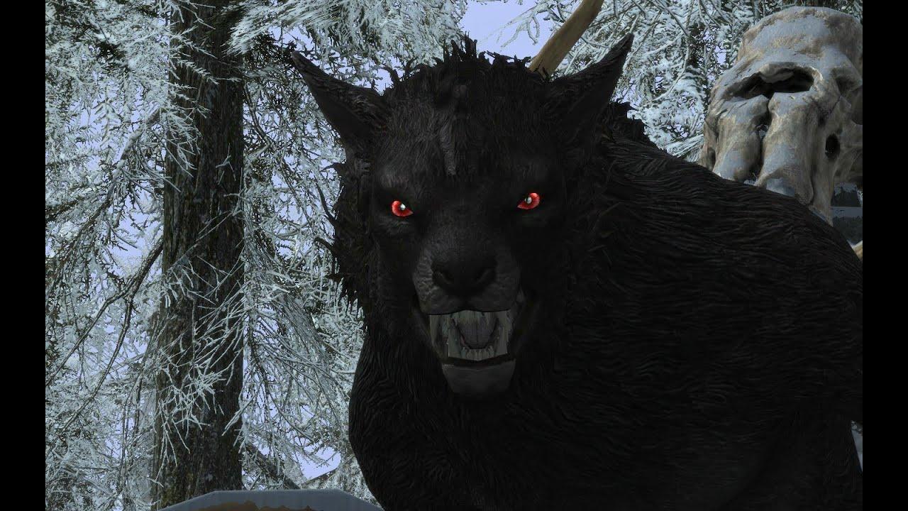 Skyrim - Werewolf Farm...
