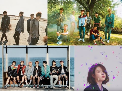 Genie Music releases its 2017 top 10 charts for most liked songs, artists, & more!