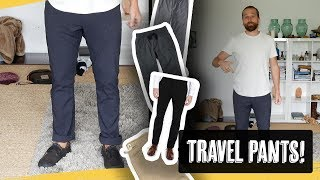 11 Excellent Travel Pants Reviewed
