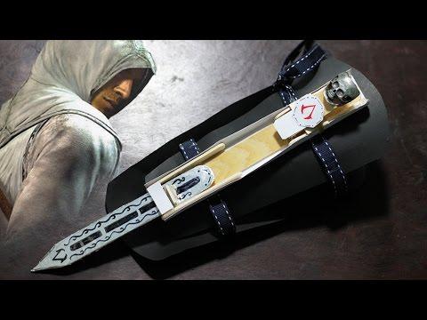 Assassin's Creed Hidden Blade   How to make   Tutorial