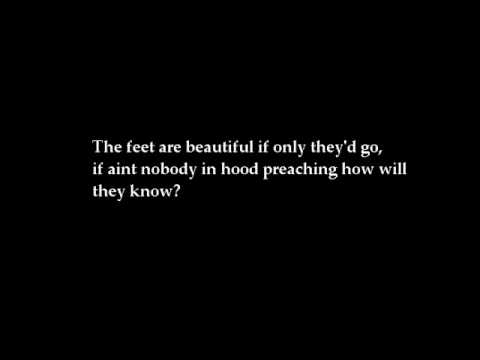 Lecrae Rebel-Beautiful Feet lyrics Video