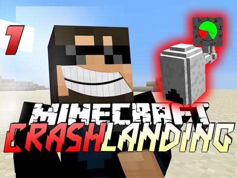 Minecraft Crash Landing 7 - PNEUMATIC CRAFT