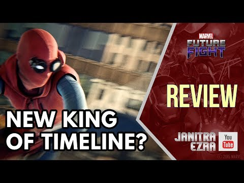 [Marvel Future Fight] Spider-Man Homecoming Uniform Timeline Battle Test