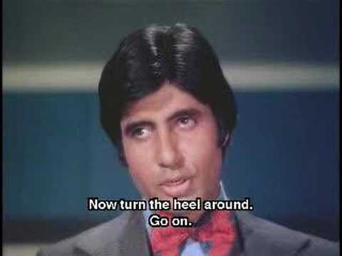 Dons entry Amitabh