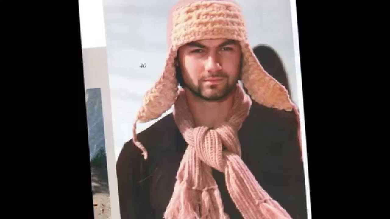 Видеоуроки вязание мужских шапок 10