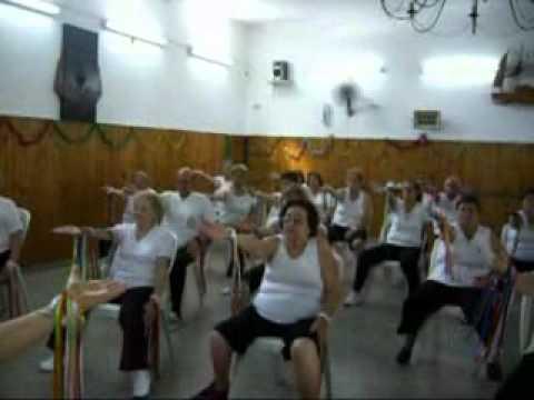 Gimnasia para la tercera edad prof monica pacor youtube for Sillas para tercera edad
