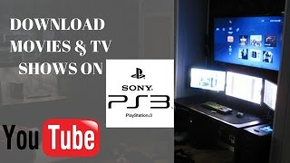 How To Download Free Movies And TV Shows on PS3 For 2017