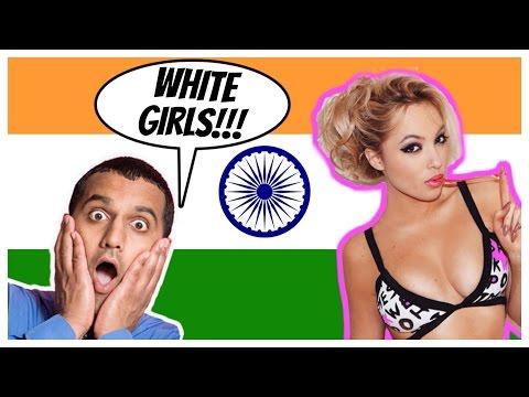 What Indians think about WHITE (Firangi) Girls | Rickshawali