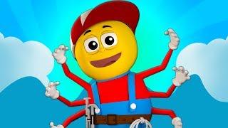 Incy Wincy araña Canciones para niños araña rima para bebés Spanish Rhymes Itsy Bitsy Spider
