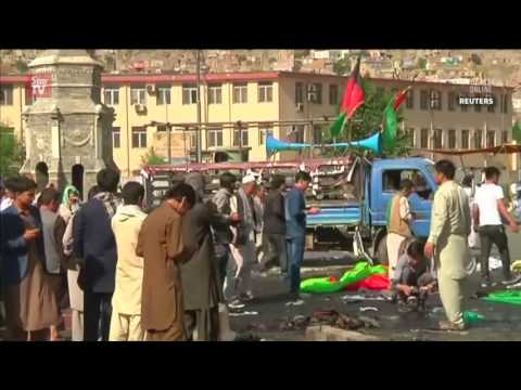 At least 61 dead in suicide attack in Kabul, IS claims responsibility