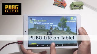 PUBG Lite on  a Cheap Android Tablet - [ Watch till end]