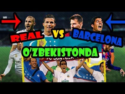 Zuhroxonning ro'moli - Real Madrid vs Barcelona | Зухрахоннинг румоли - Барселона vs Реал Мадрид