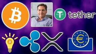 """BITCOIN PUMPED By Tether Confirmed - Craig """"Clown"""" Wright Bitcoin Copyright - Ripple XRP ECB"""