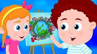Let's Scribble | Schoolies Kids Songs | Nursery Rhymes for Children