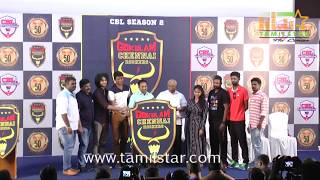 Gokulam Chennai Rockers Logo Launch And Press Meet