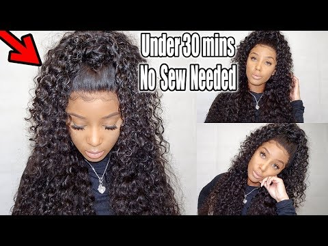 Make This Super Natural Half Up Half Down Style W/ A Frontal &; Bundles| Ft. Wiggins Hair MP3