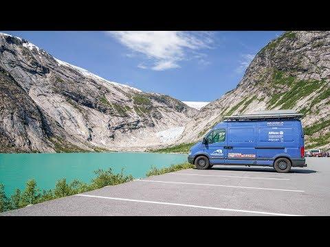Mit dem Camper zum Nigardsbreen-Gletscher in Norwegen・V2og #52
