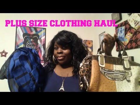 Plus Size Clothing Haul 2014 | Ashley Stewart, Forever 21 & More!