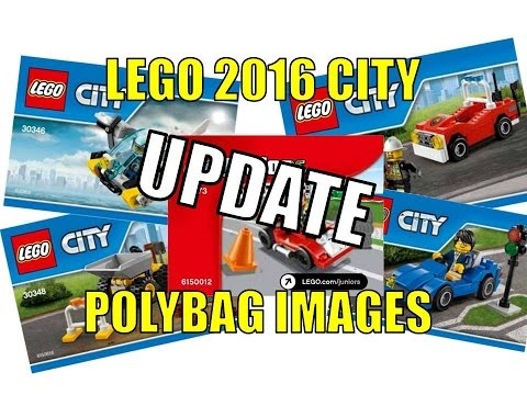 LEGO 2016 CITY POLYBAG IMAGES REVEALED UPDATE
