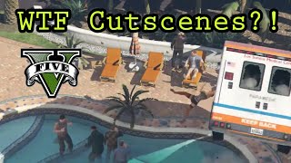 WTF Cutscenes?! - It's Raining Men (And Women... And Cars)
