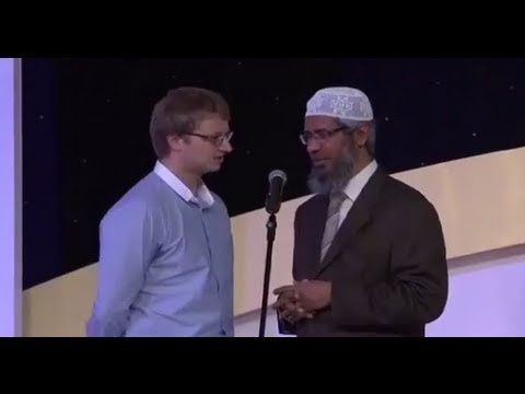 3 People Convert To Islam With Dr Zakir Naik - July 2013   Ramadan 1434 video