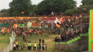 Hebohnya Suporter Liga Nusantara - SAKERA MANIA - Persekabpas vs Kresna FC (7-0)