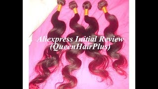 Initial Review I Aliexpress Queen Plus Hair ♡