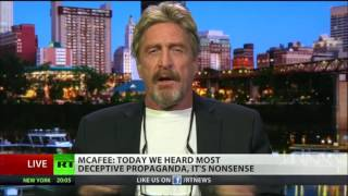 Russia DID NOT Hack The DNC - John McAfee Lays It Out