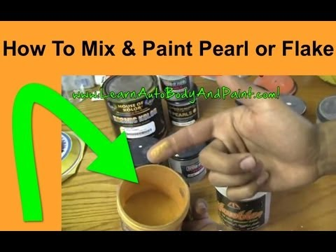HD: How To Paint With Pearls & Flakes - What is Pearl Paint? Painting Your Car With Pearl Paint!